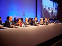 Заседание совета по вопросам мира и диалога между культурами. Штаб-квартира ООН в Нью-Йорке
