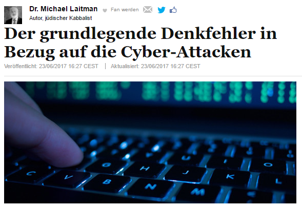 Der grundlegende Denkfehler in Bezug auf die Cyber-Attacken