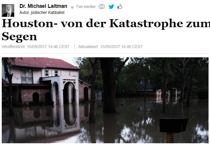 Houston- von der Katastrophe zum Segen