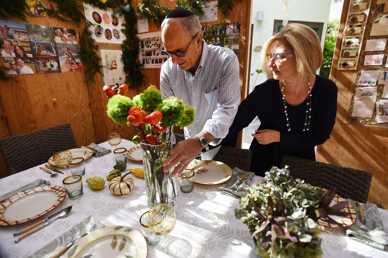Sucá festividades judías Michael Laitman