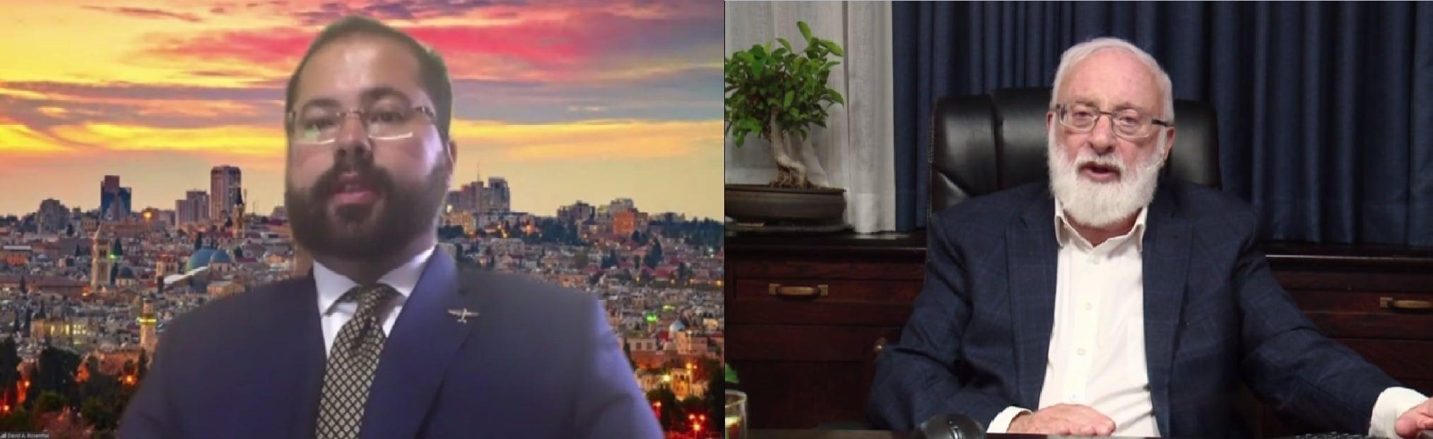 entrevista prensa antisemitismo David A Rosenthal judíos Israel