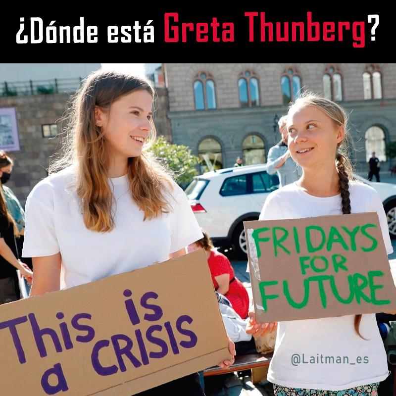 cambio climático Greta Thunberg