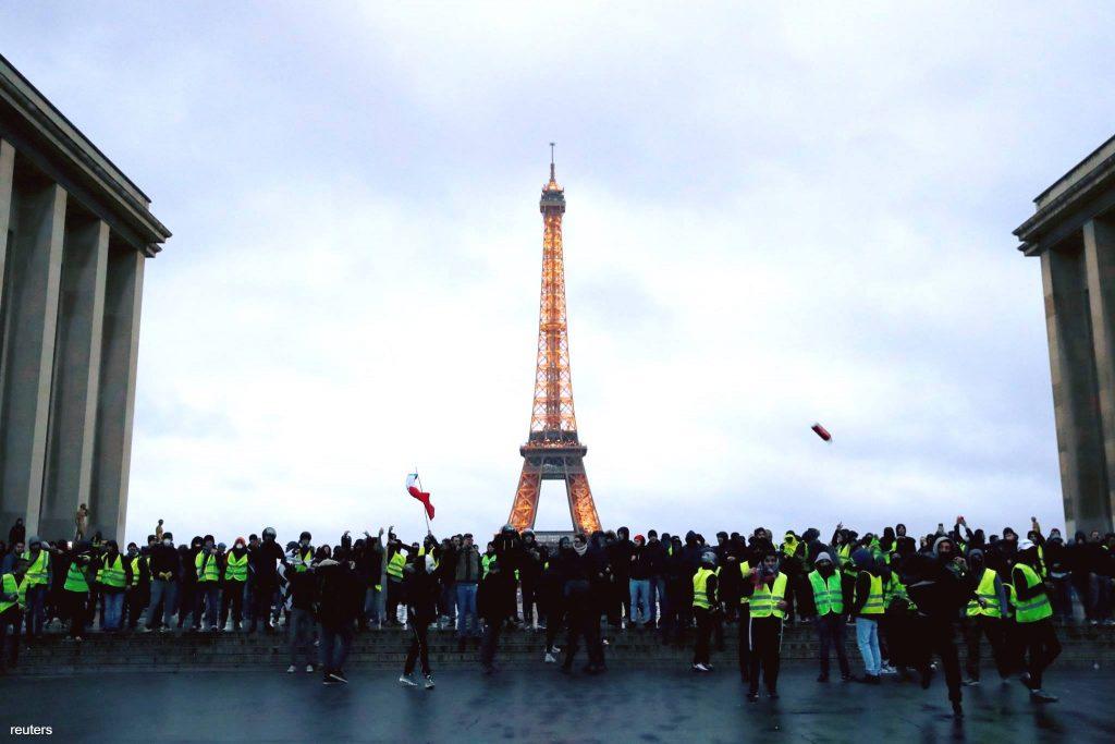 מחאת הצרפתים