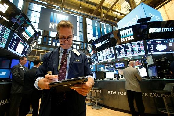 New York Stock Exchange; Reuters Image