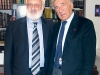 Michael Laitman with another distinguished member of the World Wisdom Council