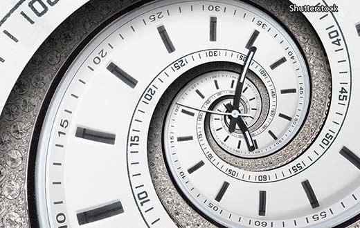 границы времени