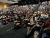 Crowds gather to hear Michael Laitman speak