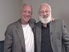 Michael Laitman with Dr. Abdulaziz Sachedina at a meeting of the World Wisdom Council